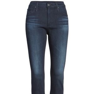 AG The Farrah Jeans High Rise Skinny